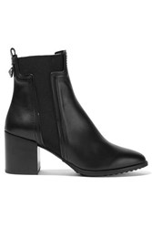 Tod's Leather Chelsea Boots Black