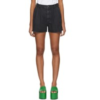 Ambush Black Denim Shorts