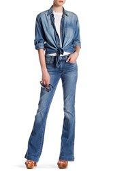 7 For All Mankind Flared Jean Blue