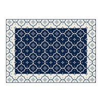 Hibernica Small Ceramic Tiles Vinyl Placemat Blue
