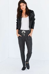 Out From Under Cozy Ribbed Jogger Pant Grey