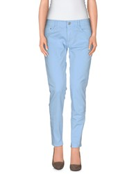 Care Label Trousers Casual Trousers Women Sky Blue