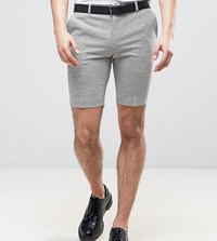 Heart And Dagger Smart Shorts In Summer Dogstooth Gray