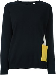 Chinti And Parker Miffy Chest Pocket Jumper Blue