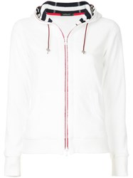 Loveless Zip Up Hoodie White