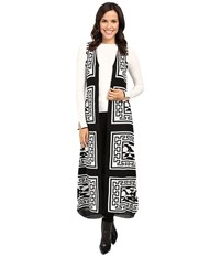 Fate Maxi Knit Vest Black Women's Vest