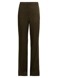 Sportmax Omar Trousers Dark Green