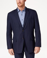 Tasso Elba Classic Fit Sport Coat Navy