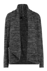 The Kooples Draped Cardigan With Wool Multicolor