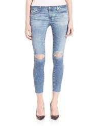 Ag Jeans Distressed Skinny Fit Leggings 16 Years Artist Touch