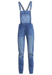 Wrangler Bib Dungarees Perfect Blue Blue Denim