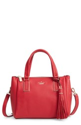 Kate Spade New York Kingston Drive Small Alena Leather Satchel Red Heirloom Red
