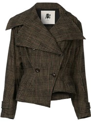 Aganovich Fitted Double Breasted Jacket Cotton