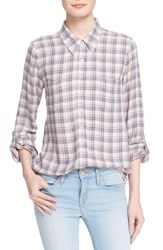 Women's Soft Joie 'Eirene' Plaid Woven Top