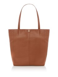 Maison De Nimes Etta Leather Tote Tan