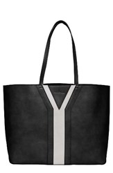 Urban Originals Streetstyle Faux Leather Tote Black Black Grey