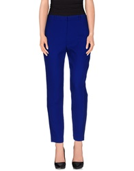 Matthew Williamson Casual Pants Bright Blue