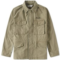 Head Porter Plus Army Jacket Green