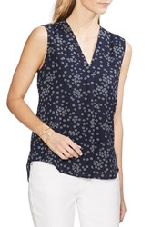 Vince Camuto Ditsy Showers Sleeveless Blouse Regular And Petite Classic Na