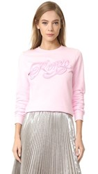 Kenzo Embroidered Sweater Pale Pink