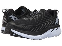 Hoka One One Clifton 4 Black White Running Shoes