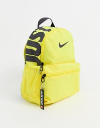 Nike Mini Just Do It Backpack In Yellow
