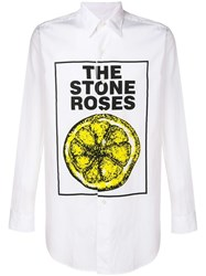 Kent And Curwen Stone Roses Shirt White