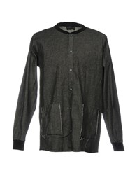 Primo Emporio Denim Shirts Black