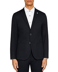 Ted Baker Cliford Piece Dyed Regular Fit Sport Coat Navy