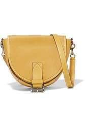 J.W.Anderson Jw Anderson Bike Small Smooth And Textured Leather Shoulder Bag Yellow