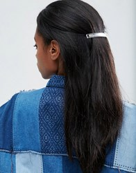 Asos Clear Hair Barrette Clear