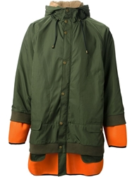 Henrik Vibskov 'What If' Parka Green