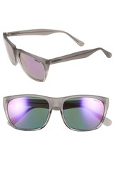 Men's Smith Optics 'Tioga' 57Mm Sunglasses Smoke Split Purple