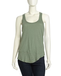 W By Wilt Twisted Slub Knit Tank Petal