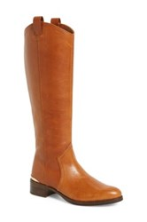 Louise Et Cie Footwear 'Zada' Knee High Leather Riding Boot Women Wide Calf Nordstrom Exclusive Brown