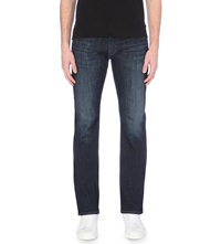 Ag Jeans Matchbox Slim Fit Straight Leg Jeans Indigo