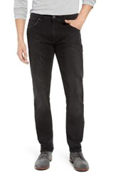 Wrangler Greensboro Straight Leg Jeans Black