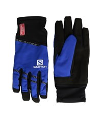 Salomon Race Windstopper Glove Black Blue Yonder Gore Tex Gloves