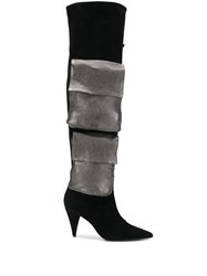 Marc Ellis Contrast Flap Pocket Boots 60