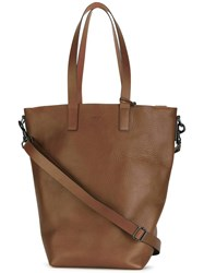 Marsell Oversized Tote Brown