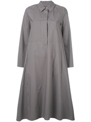 Odeeh Shirt Dress Grey