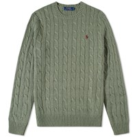 Polo Ralph Lauren Cable Crew Knit Green