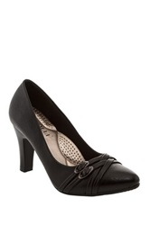 Godiva Sally Multi Strap Pump Black