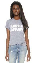 Private Party Champagne Campaign Tee Grey