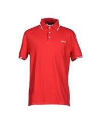 Pirelli Pzero Polo Shirts Red