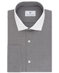 Ryan Seacrest Distinction Men's Fitted Gray French Cuff Dress Shirt Only At Macy's