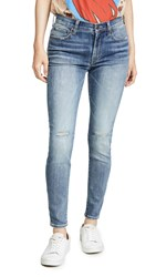 Edwin Pixie High Rise Skinny Jeans Double Dare