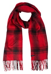 Lee Scarf Chili Red