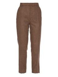 Stella Jean Straight Leg Cropped Trousers