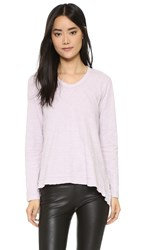 Wilt Long Sleeve Double Slanted Hem Iris
